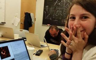 Katie Bouman black hole