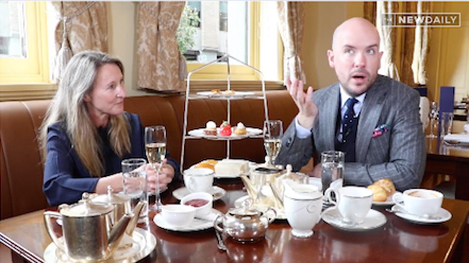 Classy comedian Tom Allen on how to tell a joke and bake a cake