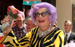 Barry HUmphries name dumped from MICF