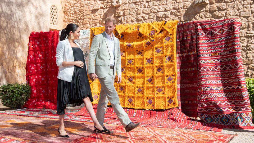 Harry Meghan Morocco