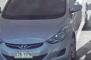 PHOTO: Anyone with information regarding the vehicle is urged to contact police immediately. (Supplied: Queensland Police Service)