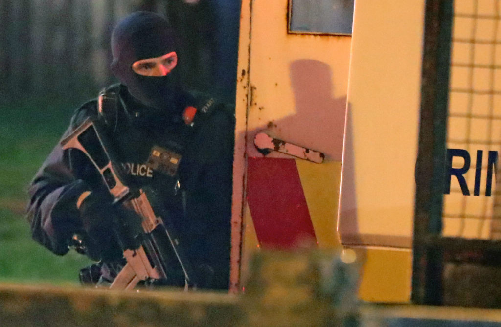 Northern Ireland troubles start again