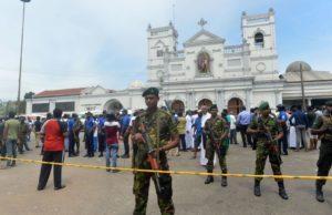 dozens killed in sri lankan bombings