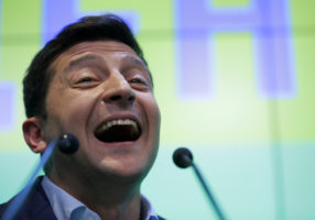 Ukraine comedian president