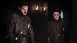 Jon Snow Arya Stark Game of Thrones