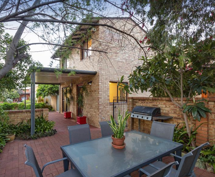 This three-bedroom townhouse has an asking price of $499,000.