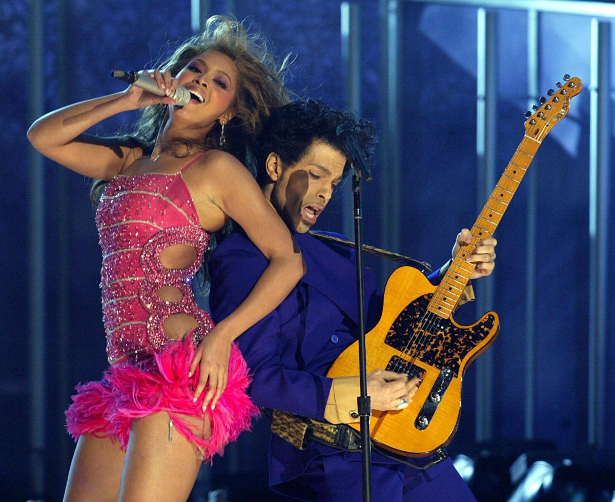 Beyonce Prince 2004 Grammys