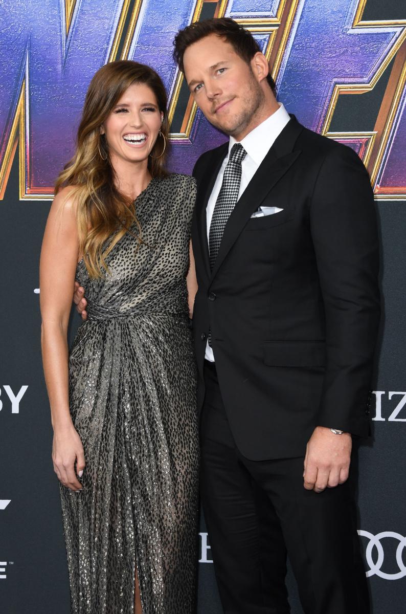 Katherine Schwarzenegger Chris Pratt
