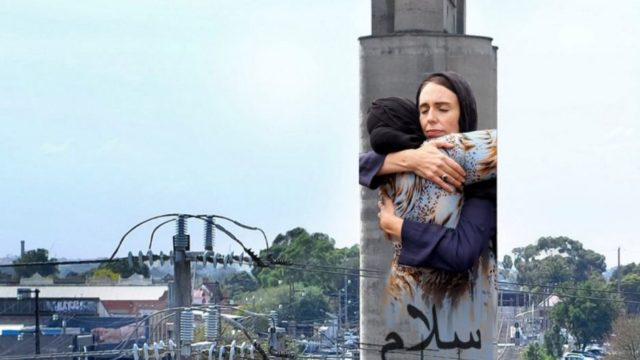 Jacinda Ardern mural on Melbourne silo to become 'beacon of tolerance' in Brunswick