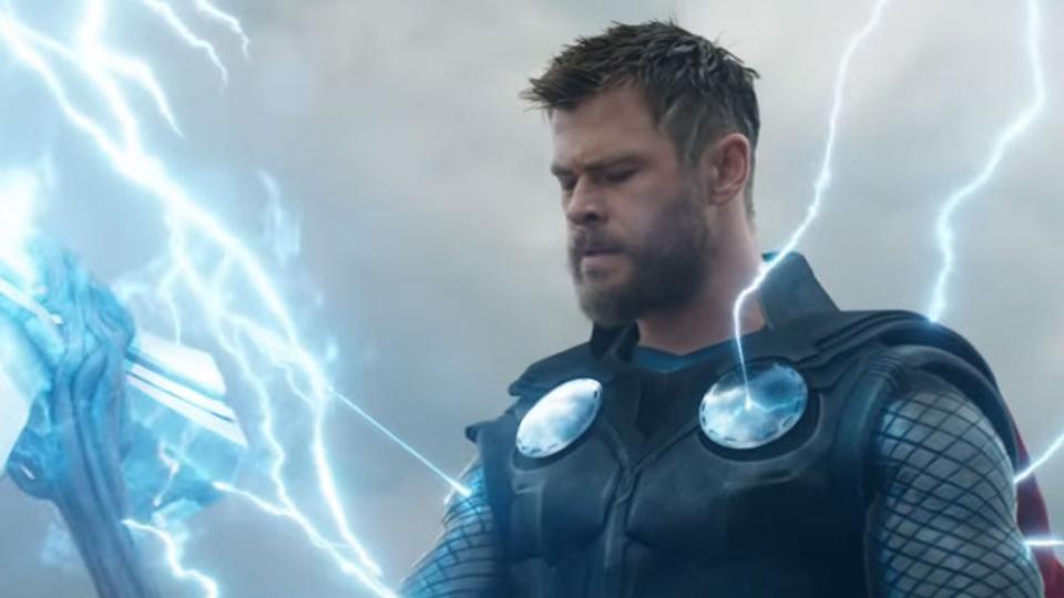 Chris Hemsworth Avengers: Endgame