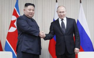 Kim Jong-un Vladimir Putin