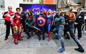 Avengers: Endgame fans LA