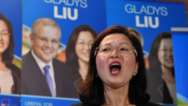 Gladys Liu declines to explain her part in mysterious $105,000 donation