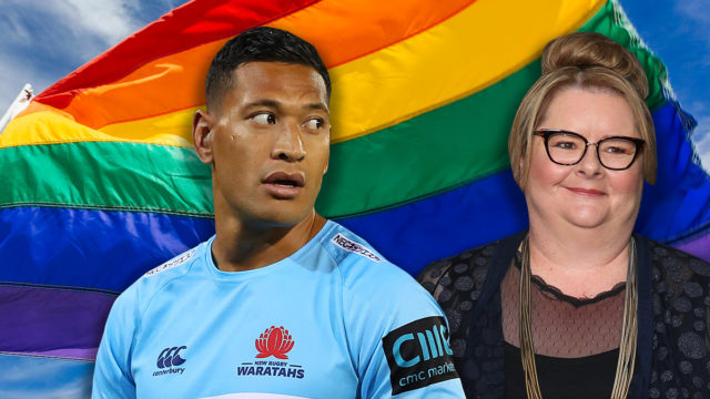 Christian leaders back Magda Szubanski's counter-campaign bid to rival Israel Folau