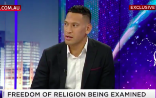 Israel Folau claims Rugby Australia offered to pay him to take down the controversial post.