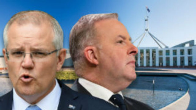 Labor closes gap while Coalition support falls in latest Newspoll