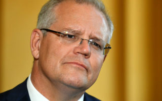 Prime Minister Scott Morrison concedes he ordered the release of the boat data.