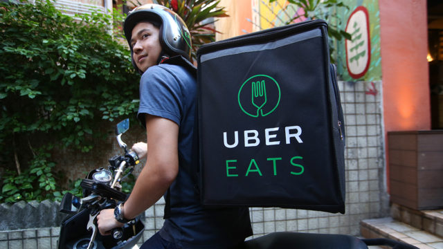 By day, a data scientist, and by night, an Uber Eats driver. Photo: Getty