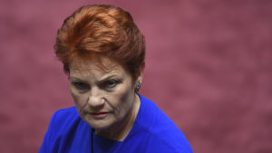 pauline hanson dumped today