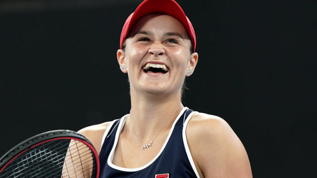 Tennis champ and lifelong Richmond supporter Ash Barty could present AFL premiership cup