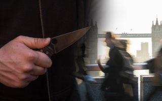 knife crime london terror