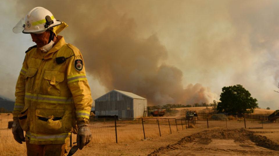 bushfire danger spring 2021