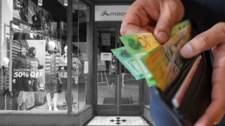 Australian shops and money