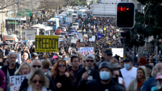 Anti-lockdown protests could go ahead this weekend