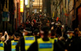 melbourne lockdown protest