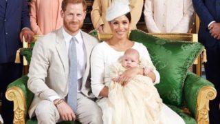lilibet christening harry-meghan-archie