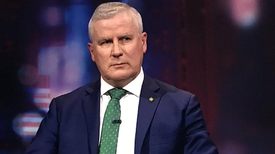 Acting PM McCormack pans Big Tech's Trump ban