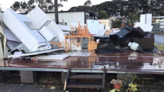 caravan park tornado