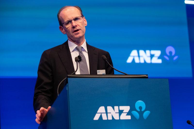 ANZ boss Shayne Elliott said the bank was keeping an eye on its loan book