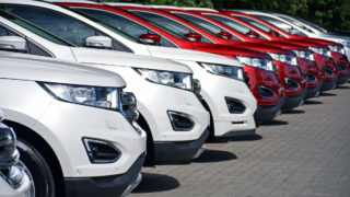 new car sales slump