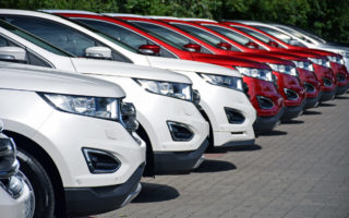 new car sales slump