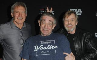 Harrison Ford Peter Mayhew Mark Hamill