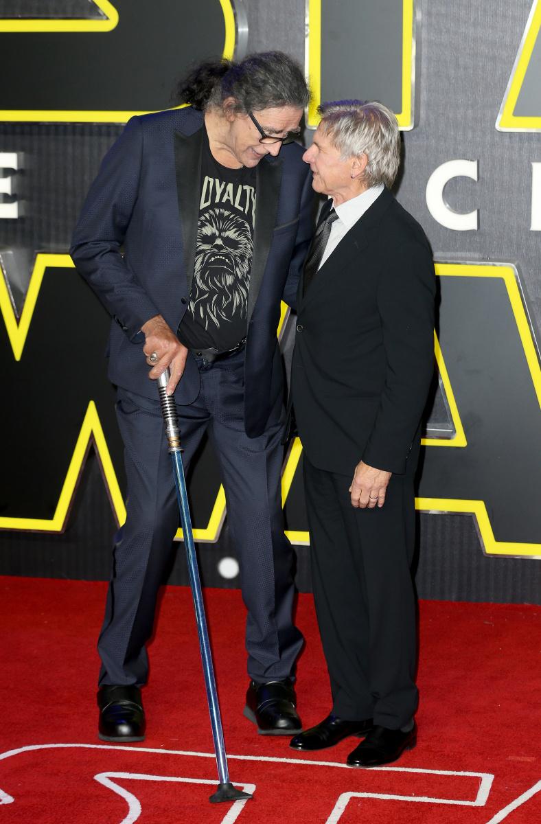 Harrison Ford Peter Mayhew