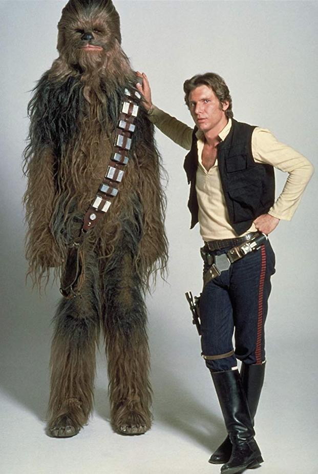 Peter Mayhew Harrison Ford