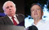 Clive Palmer Bill Shorten
