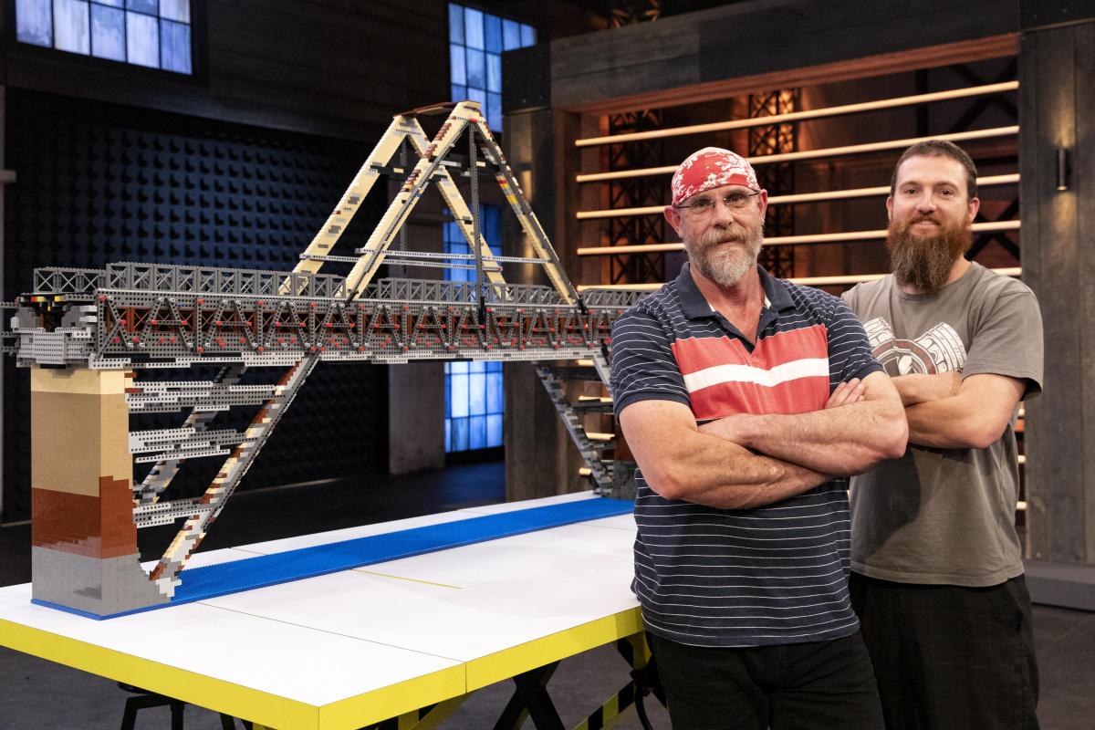 David and Gerhard Lego Masters