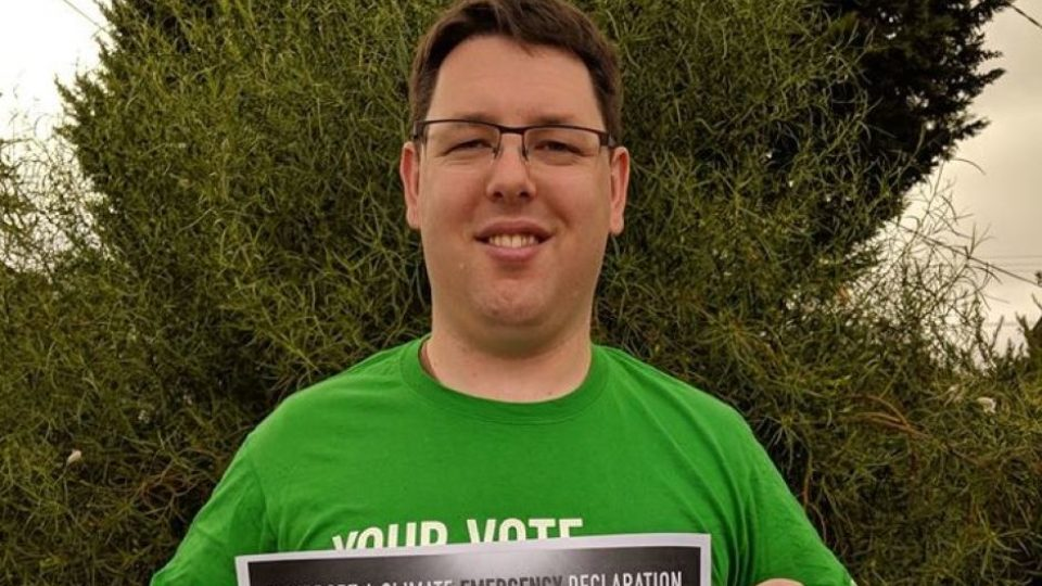 greens candidate quits