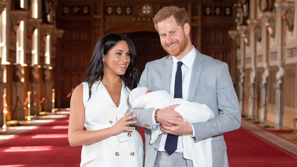 Duke and Duchess of Sussex Archie