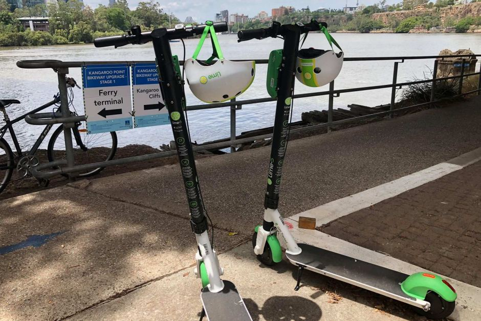 Man dies in hospital after crashing off Lime scooter in Brisbane