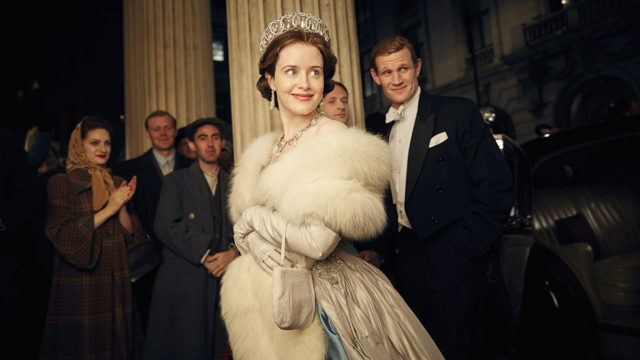 Matt Smith and Claire Foy in The Crown (2016). Photo: IMDB