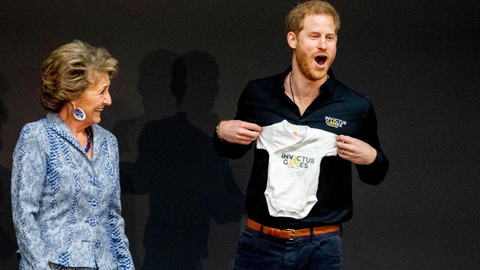 Prince Harry Princess Margriet