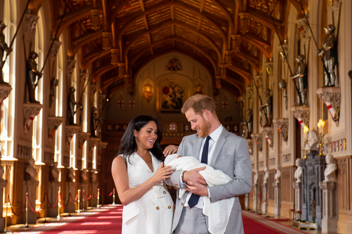 Harry Meghan Archie
