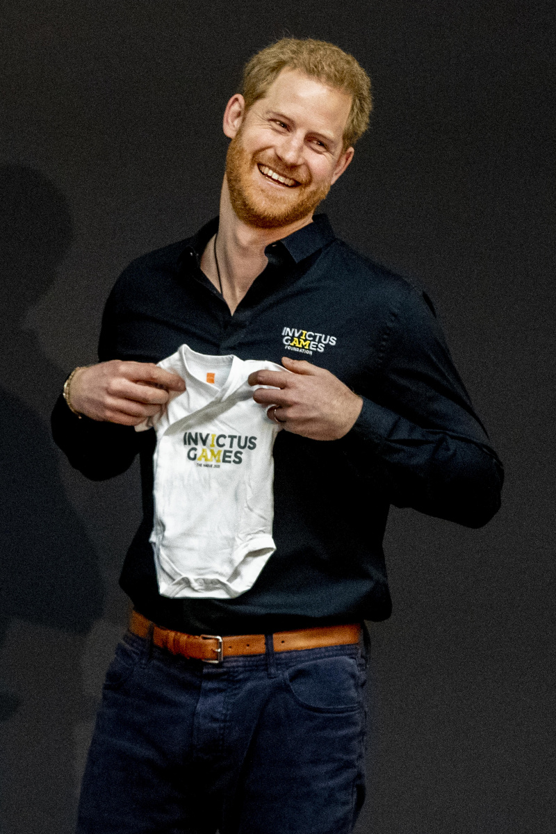 Prince Harry onesie