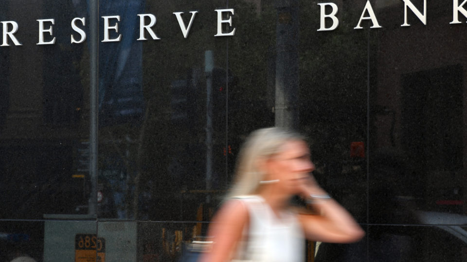 The Reserve Bank of Australia has downgraded its consumption levels.
