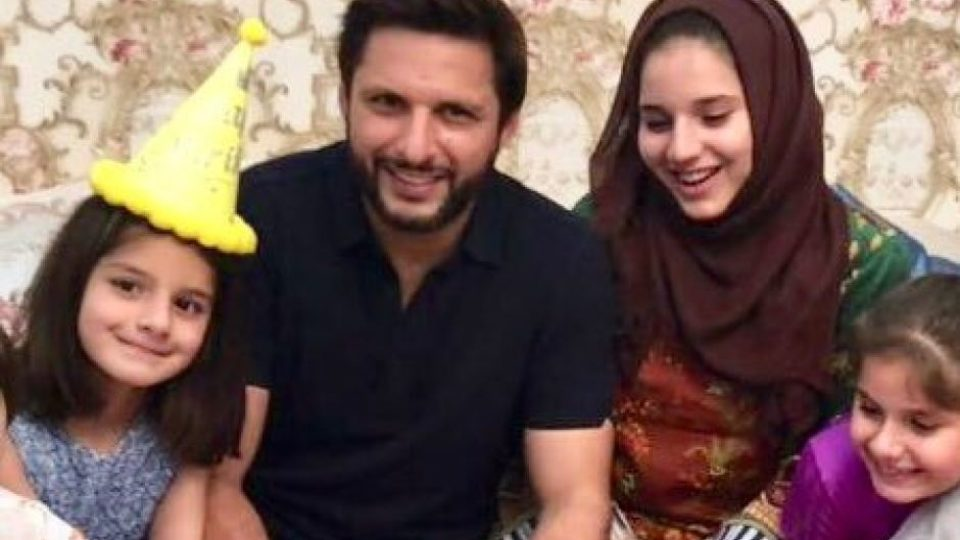 Shahid Afridi Says Daughters Forbidden From Playing