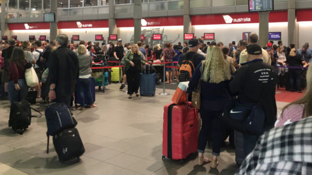 Passengers delayed as Virgin's check-in system crashes